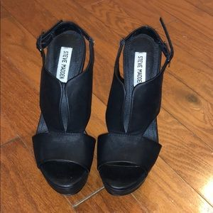 Steve Madden Xander Wedge Sandals